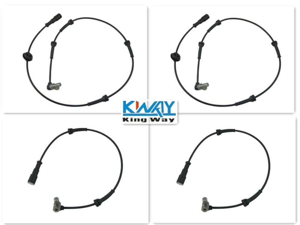 ABS WHEEL SPEED SENSOR FRONT REAR LEFT RIGHT FOR LANDROVER DISCOVERY 2 II NEW 4 pcs One Set