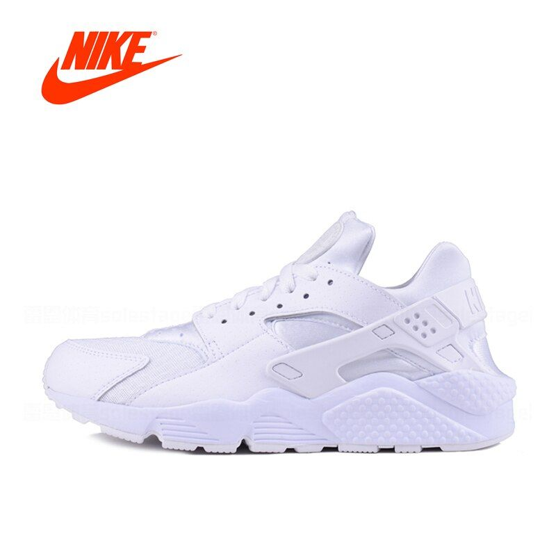 Authentic New Arrival Official Nike AIR HUARACHE RUN Men's Breathable Running Shoes Sneakers Classic Outdoor Tennis Shoes