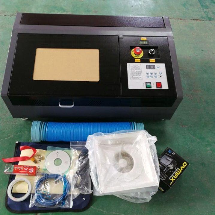 50 W Laser Aktualisiert Hochpräzise und High Speed Dritte Generation CO2 Laser Gravur Schneiden Maschine