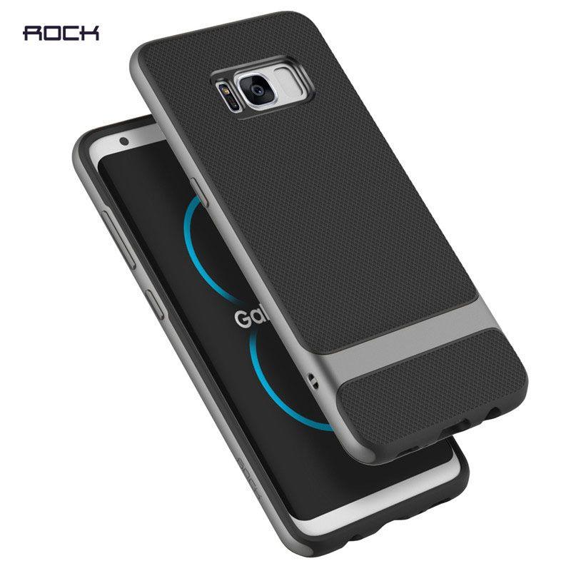 Pour Samsung Galaxy S8 S8 plus Cas, Rock Royce Série Cas TPU + PC Retour housse pour Samsung Galaxy S8/S8 plus