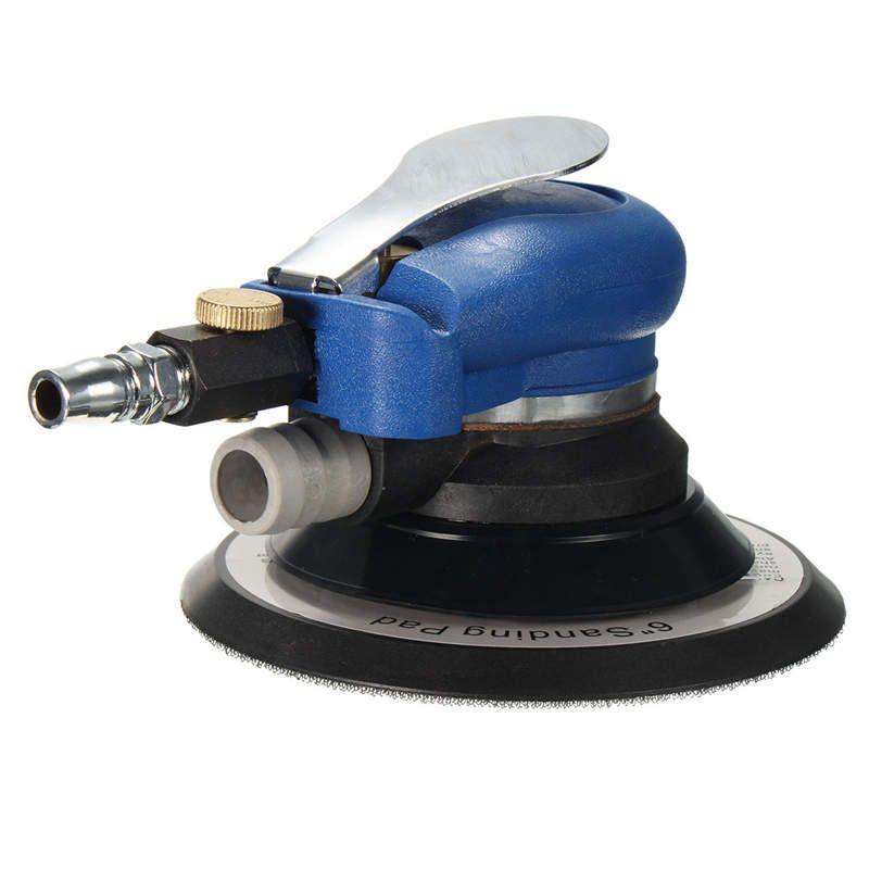 Wholesale Price 6 Inch Random Orbital Air For Palm Sander & Car polisher Vacuum Cleaner Set Tool 6inch