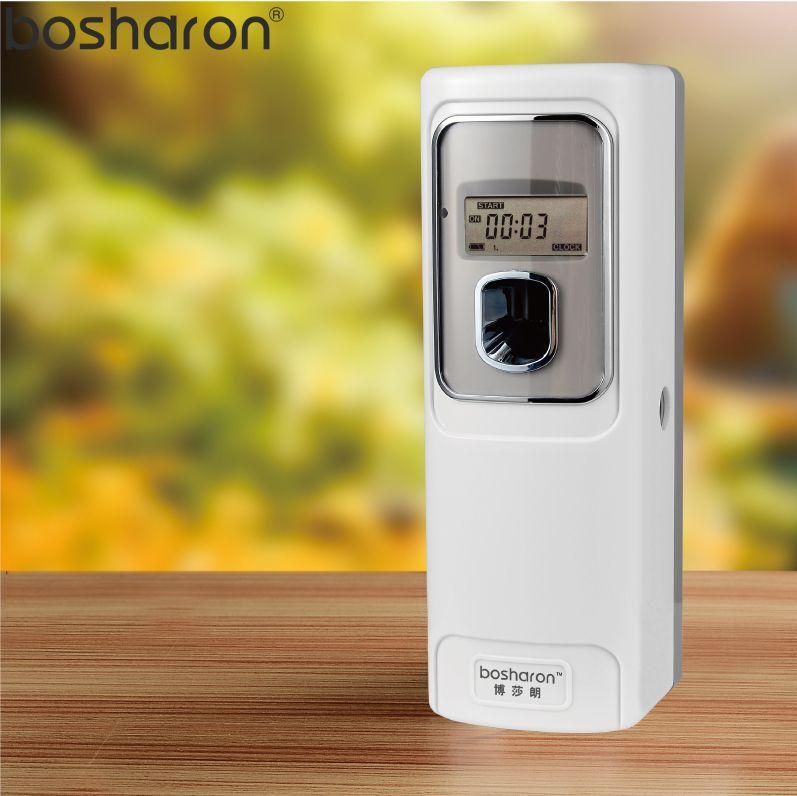 LCD Automatic Aerosol Dispenser Air Freshener Wall Mounted For Home Hotel Bathroom Toilet Fragrance Perfume Sprayer Machine