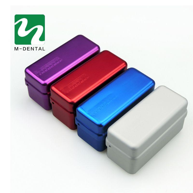 72-löcher Autoklaven Sterilisator Fall Burs Dental Desinfektion Endo Dateien Halter Box Für Mundpflege Werkzeuge Zahnarzt Laborgeräte