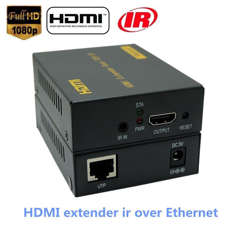 LKV373 400ft HDMI Over IP Splitter Extender Mit IR Über RJ45 Cat5 Cat5e Cat6 Kabel HD 1080 P HDMI Ethernet Extensor Bis Zu 120 mt