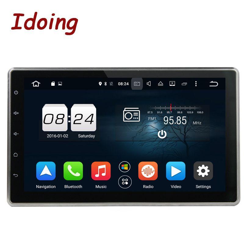 Idoing 2Din Android8.0/7.1 Steering Wheel Universal 10.1