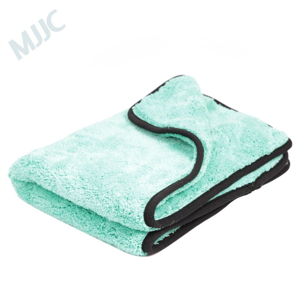 MJJC 40X40CM 1200GSM Ultra Absorbancy Car Wash Cloth Pad Super Deep Pile Premium Microfiber Drying Towel Car Waxing Polishing