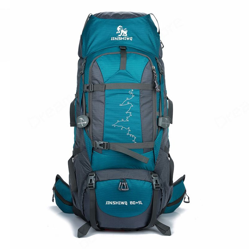 85L Große Outdoor-Rucksack Wasserdichte Reisetaschen Camping Wandern WomenClimbing Rucksäcke Rucksack Männer sporttasche