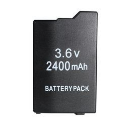 Game accessories for PSP Battery with 2400 mAh For SONY Lite,PSP 2th,PSP-2000,PSP-3000,PSP-3004,Silm Free Shipping