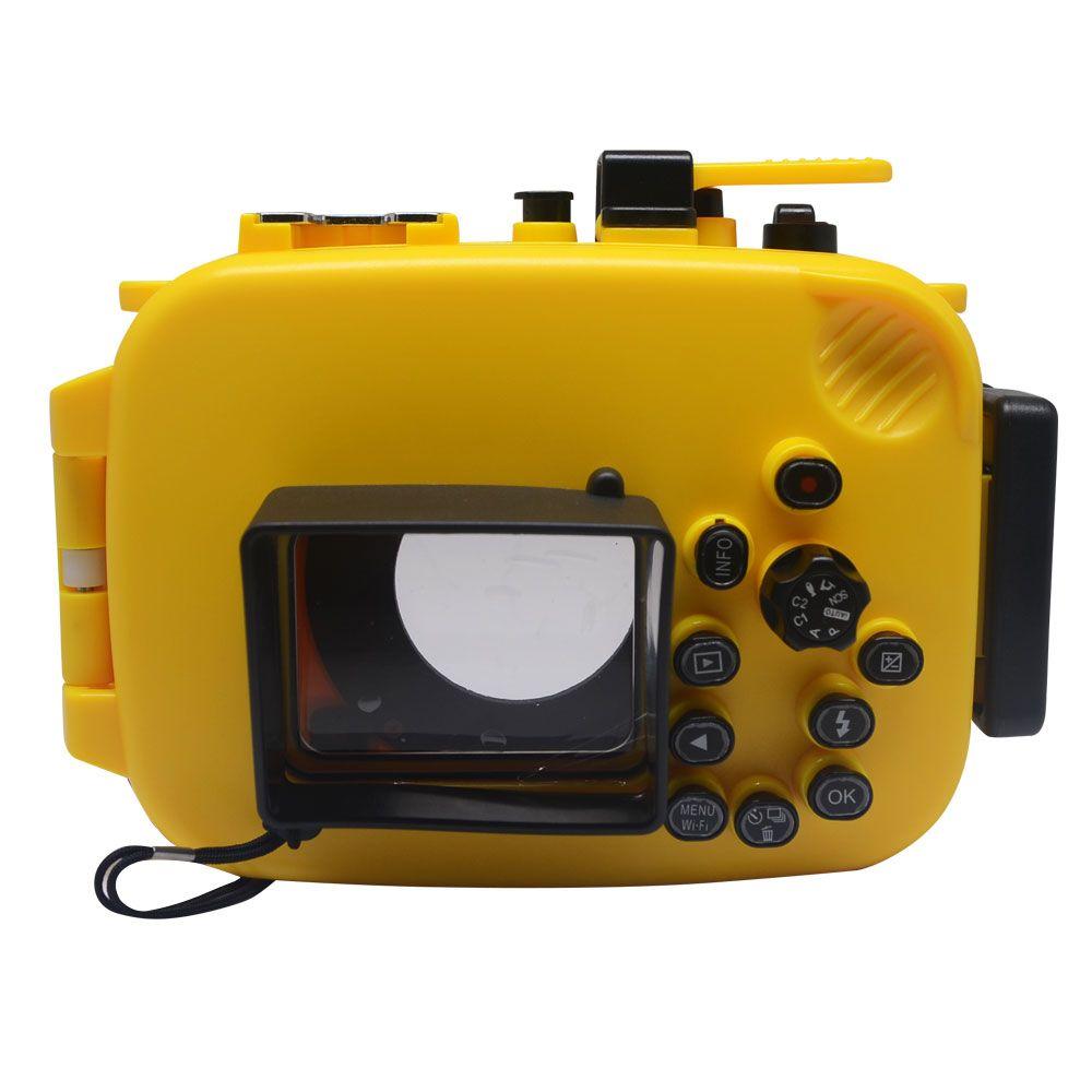 Mcoplus 40m/130ft Underwater Case Waterproof Diving Housing Camera Bag for Olympus TG-4 TG-3