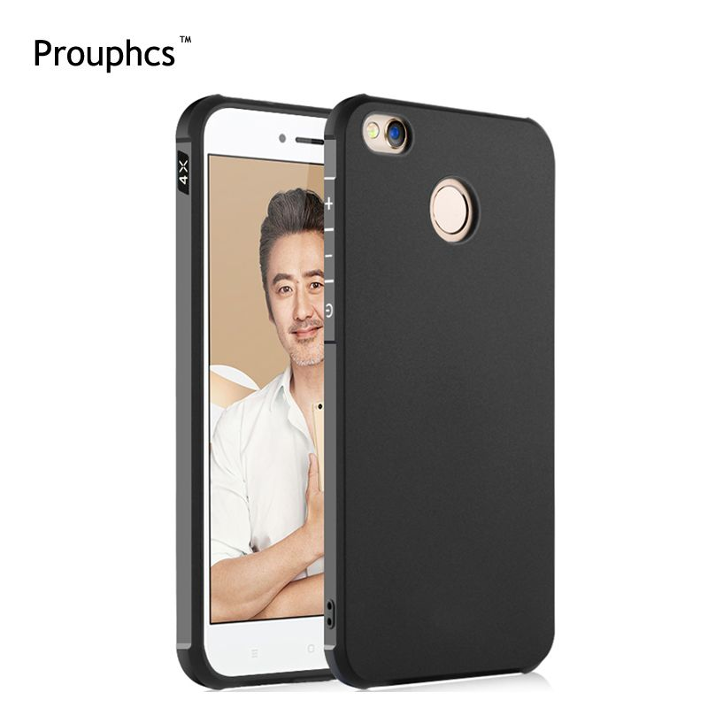 Prouphcs For Xiaomi Redmi 4X Case Soft Silicone TPU Cover Case for Xiaomi Redmi 4X Full Protective Shockproof Phone Case