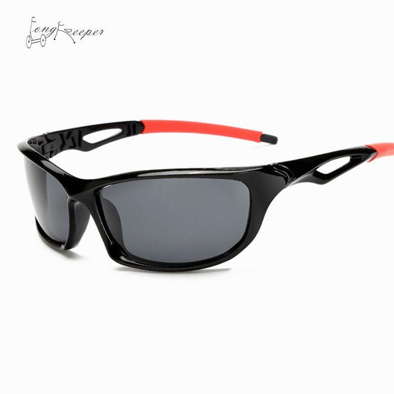 LongKeeper Mens Radfahren Sonnenbrille Polarisierte Sport-sonnenbrille Männer Marke Design Sonnenbrille Super Licht Oculos Gafas Ciclismo