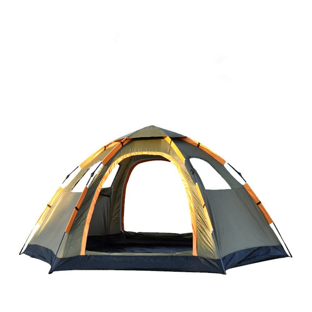 Wnnideo Instant Family Tent 6 Person Large Automatic Pop Up Tents Waterproof for Outdoor Sports Camping Hiking Travel Beach
