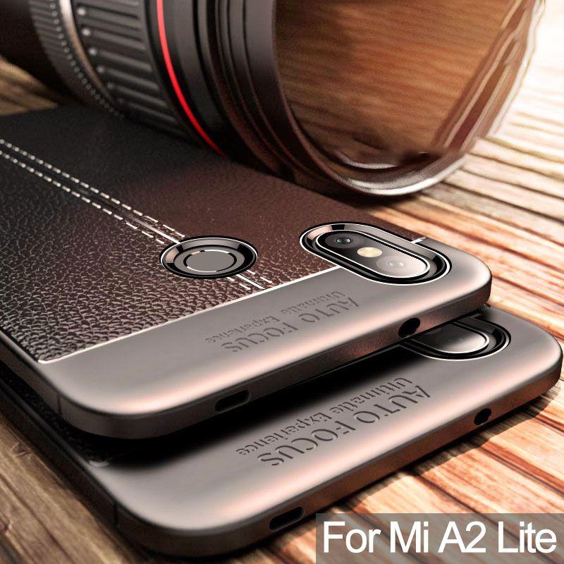 For Xiaomi Mi A2 Lite Case For Mi A2 Lite Cover Silicone Bumper Soft Back Cover For Xiaomi Mi A2 Lite Case For MiA2 Lite