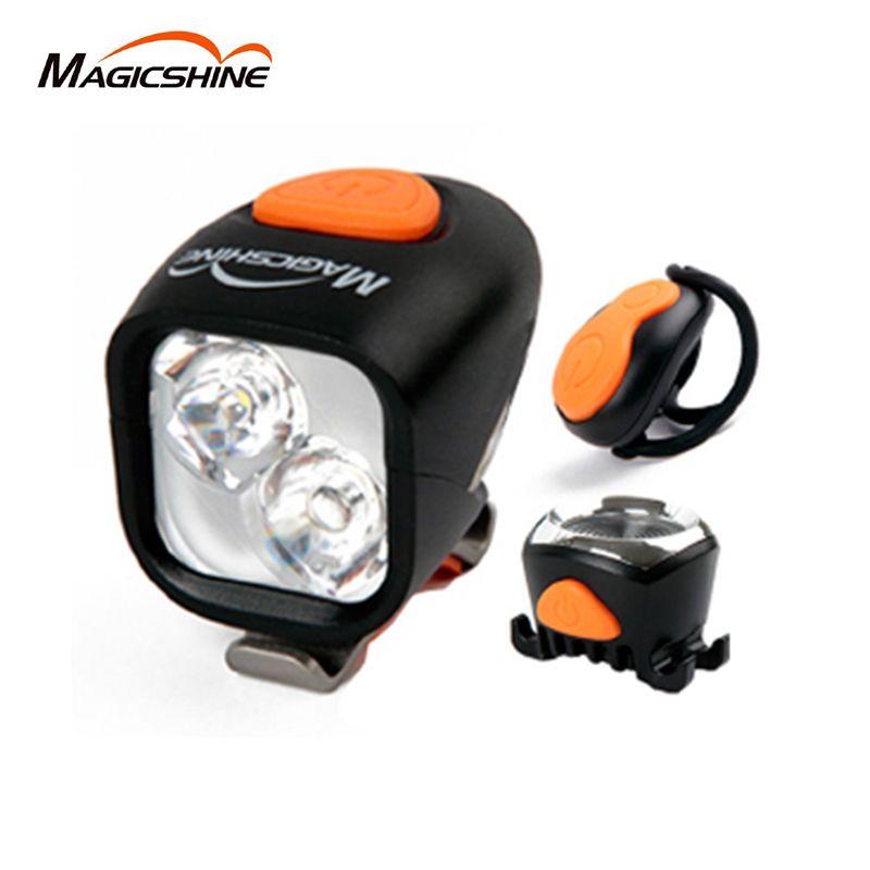 Magicshine Radfahren Fahrrad Led Licht Vorne Taschenlampe Lenker Fahrrad Wasserdichte Led Licht Wiederaufladbare 1200LM Hinten Licht
