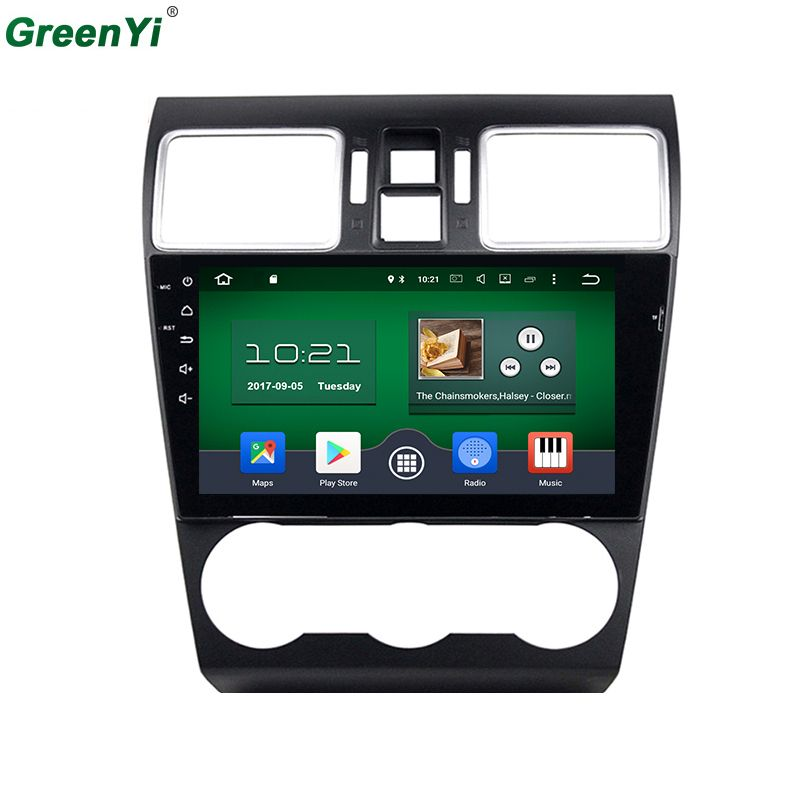 9 inch 2GB RAM Android 6.0.1 Octa Core 1024*600 Car GPS Radio Fit Subaru WRX 2014 2015 2016 Car DVD Player Navigation GPS Radio