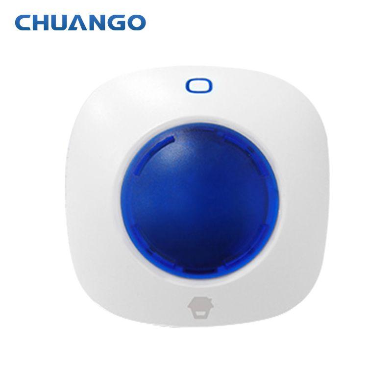 Chuango 315 mhz WS-105 Mini Wireless-Strobe Warnung Sirene für chuango Home Security Einbrecher Alarm System panels und sensoren