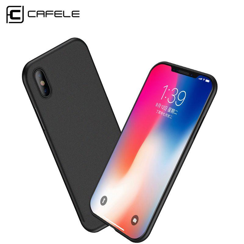 CAFELE Ultra Thin PP Fall für iphone X Transparent Matte Peeling dünne Schutzhülle für iphone X Licht Gewicht Luxury Back Cover