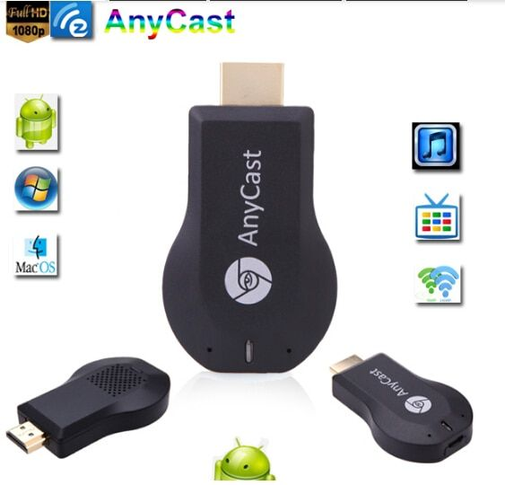HOT M2 Anycast TV Stick <font><b>HDMI</b></font> Full HD1080P Miracast DLNA Airplay WiFi Display Receiver Dongle Support Windows Andriod