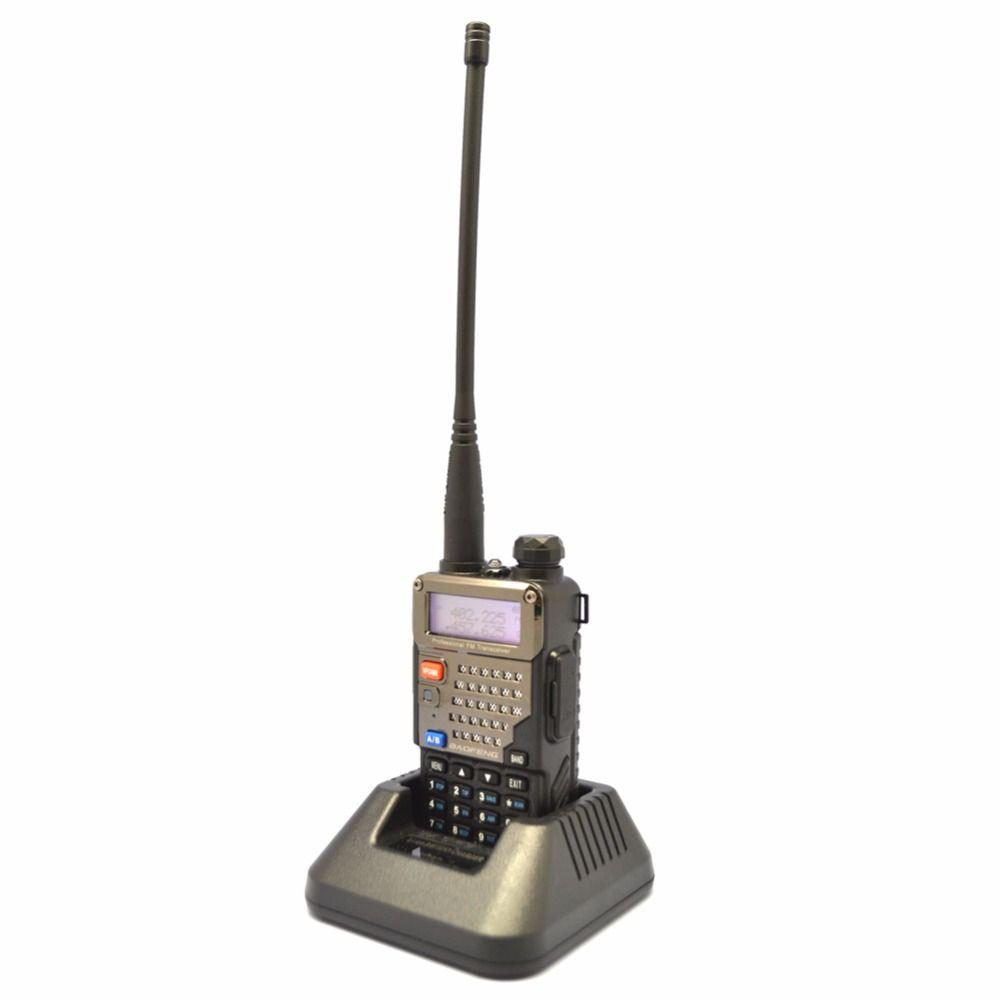 New Baofeng UV-5RE+ PLUS Police Walkie Talkie Scanner Radio Dual Band Cb Ham Radio Transceiver UHF 400-520MHz VHF136-174MHz