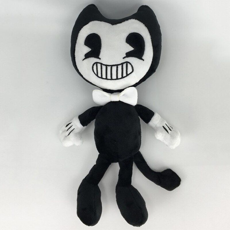 30cm Bendy and the Ink Machine Bendy Plush Toys Cute Bendy Plush Doll Soft Sruffed Animals Toys for Kids Chidlren Christmas Gift