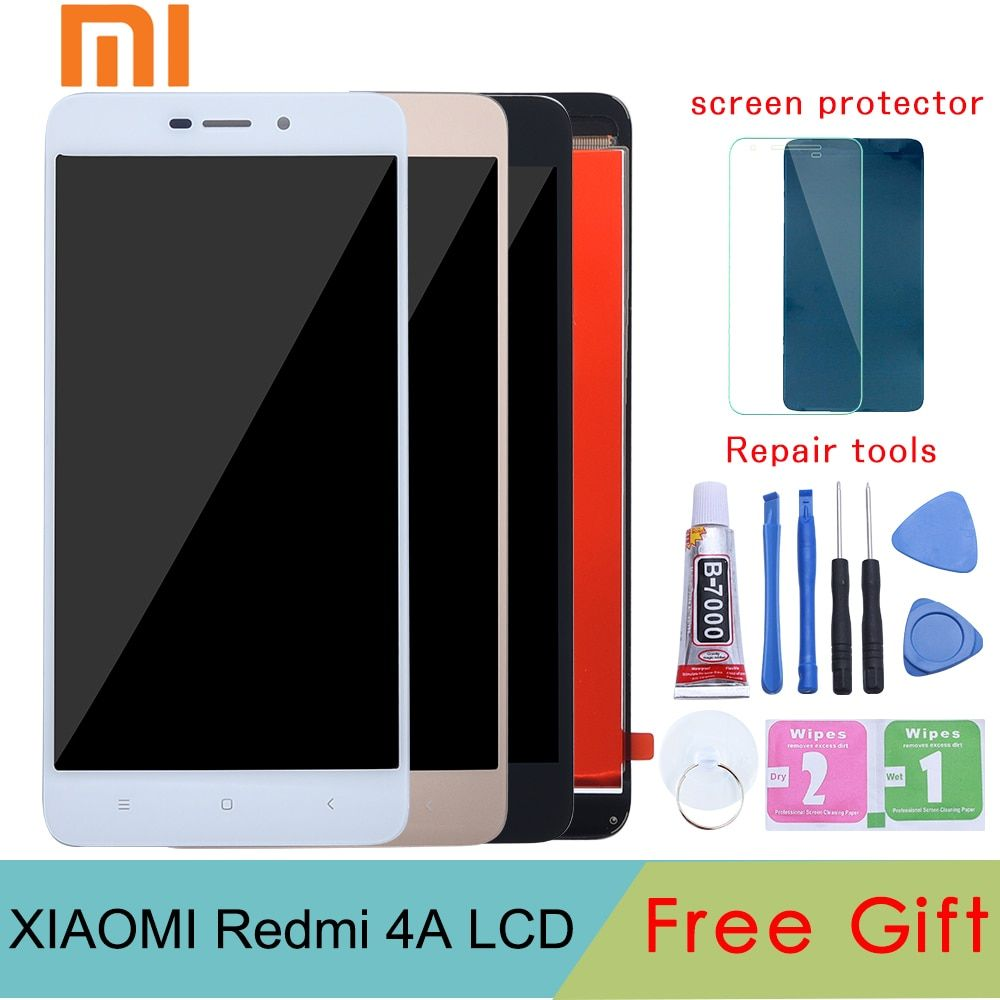Tested 5.0 LCD For XIAOMI Redmi 4A LCD Display Touch Screen Digitizer Replacement For XIAOMI Redmi 4A Display