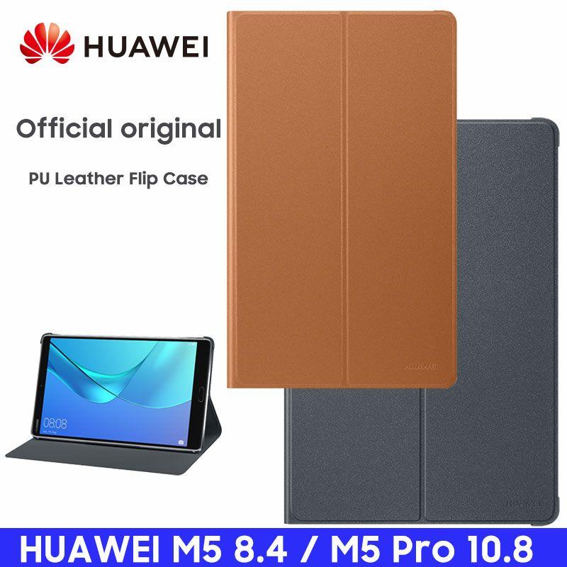 HUAWEI M5 Pro étui officiel Original Smart View HUAWEI Mediapad M5 couverture béquille Flip cuir M5 étui tablette couverture 8.4 10.8
