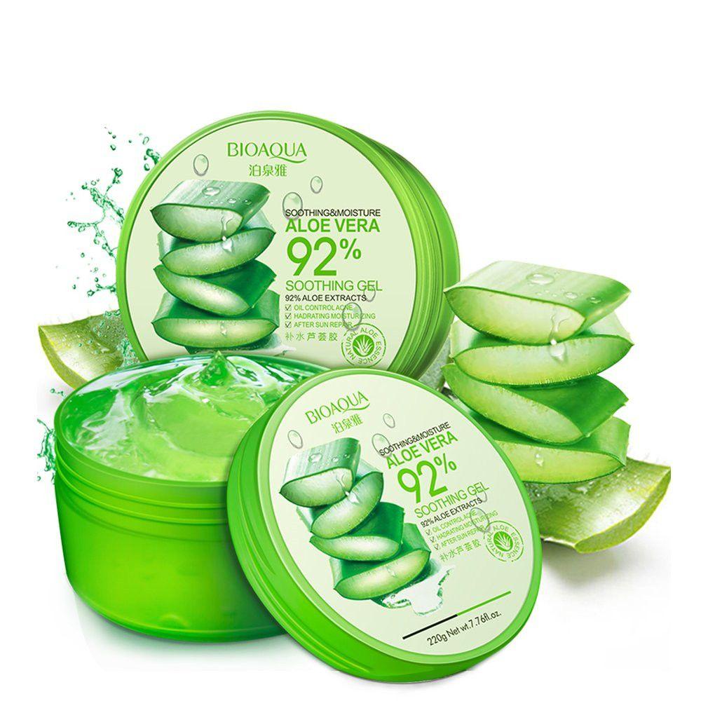 Pure Natural Aloe Vera Smooth Gel Acne Treatment Face Cream Moisturizing Anti Acne Kill Bacteria Soothe The Skin Aloe Vera Gel
