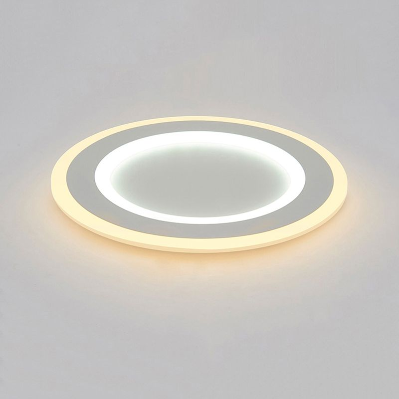 Surface mounted Round Modern led ceiling chandelier for living room dining room bedroom Ultra-thin chandelier lighting Modern