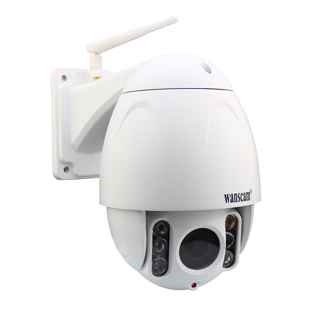 Wanscam 1080P 2.0MP PTZ 5x Zoom Onvif Build in TF Card Waterproof Wireless P2P Security Surveillance IP Camera