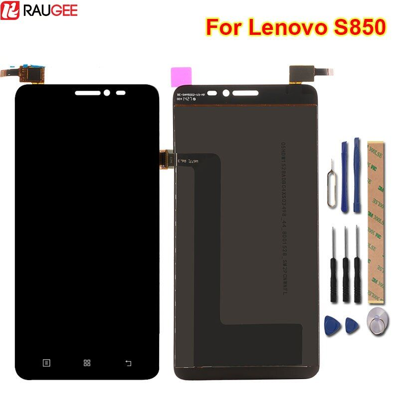 For Lenovo S850 LCD Display+Touch Screen 100% New Assembly Replacement Digitizer Screen Glass Panel For Lenovo S850