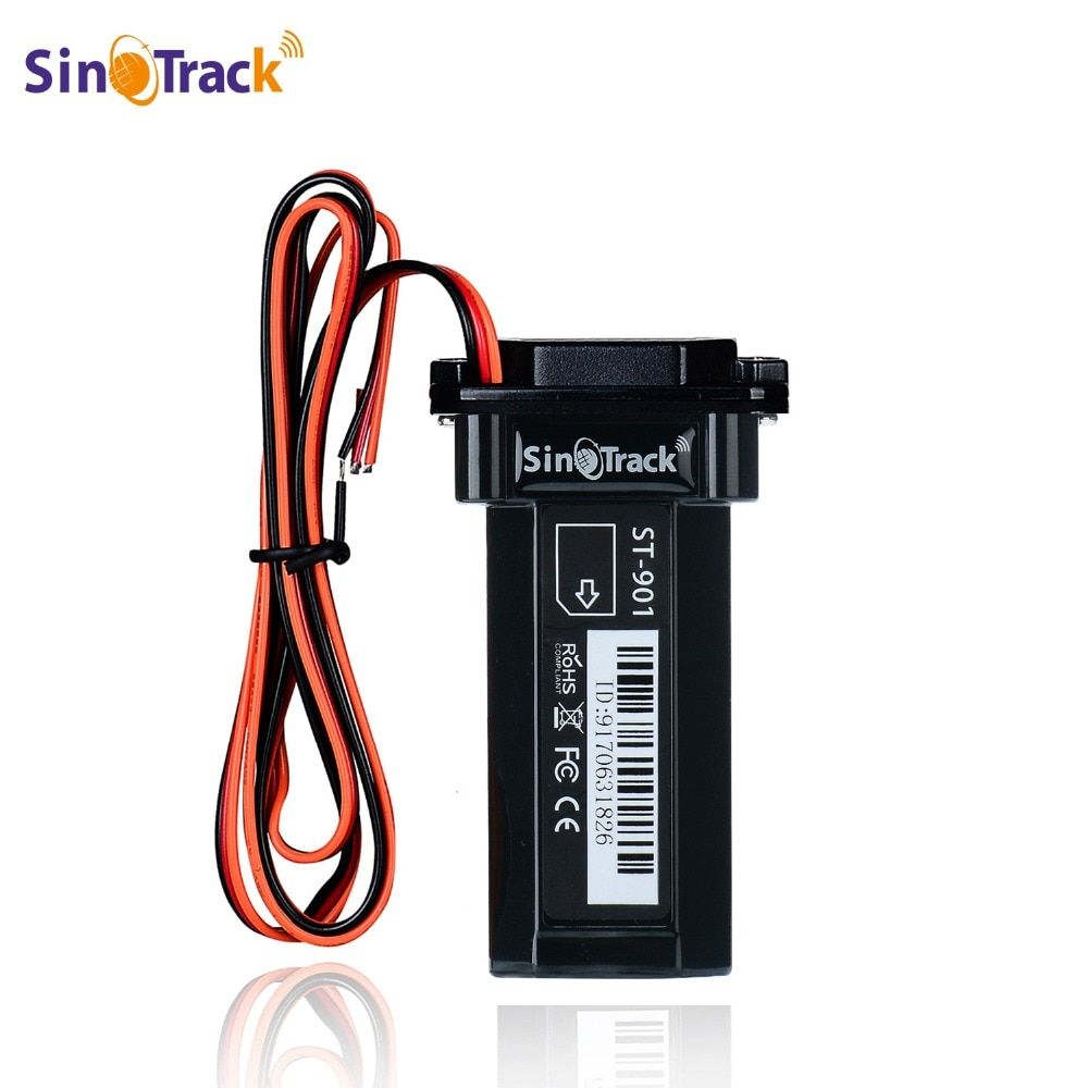 Mini Étanche Builtin Batterie GSM traceur gps ST-901 pour la voiture moto dispositif de repérage de véhicule avec logiciel de suivi en ligne