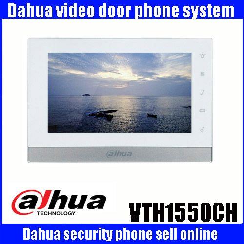 Original mutil-language DAHUA Video Intercom Door Phone DH-VTH1550CH 7-inch Color Indoor Monitor touch screen VTH1550CH MONITOR
