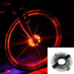 Велотренажер подсветка колес велосипеда передняя/задняя подсветка втулки Led спиц Предупреждение льная лампа Велоспорт украшение ночной ез...
