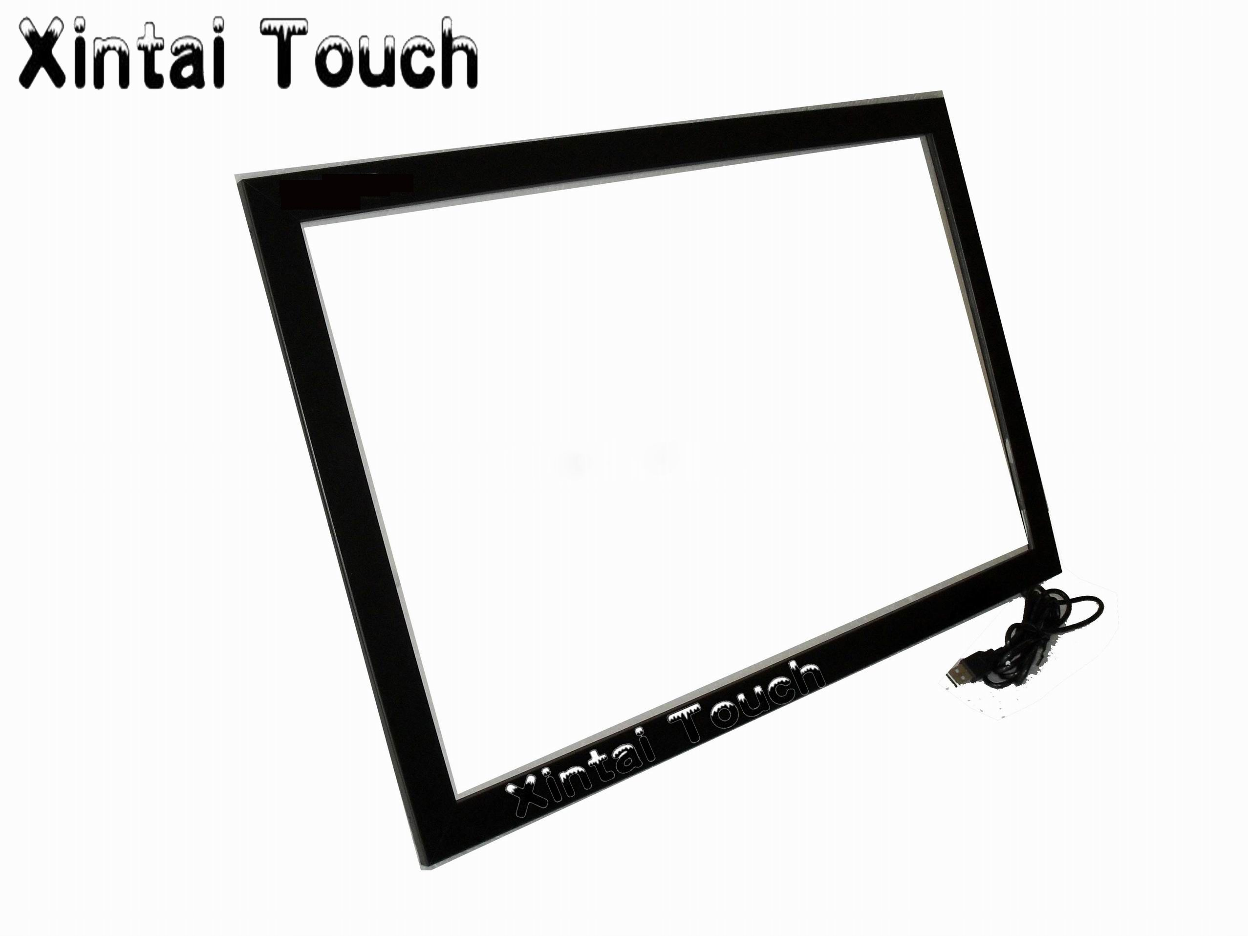 Free Shipping! 85 Inch 10 Multi Touch Screen Frame/ Multitouch IR touch screen overlay kit For Interactive Table/Touch Kiosk