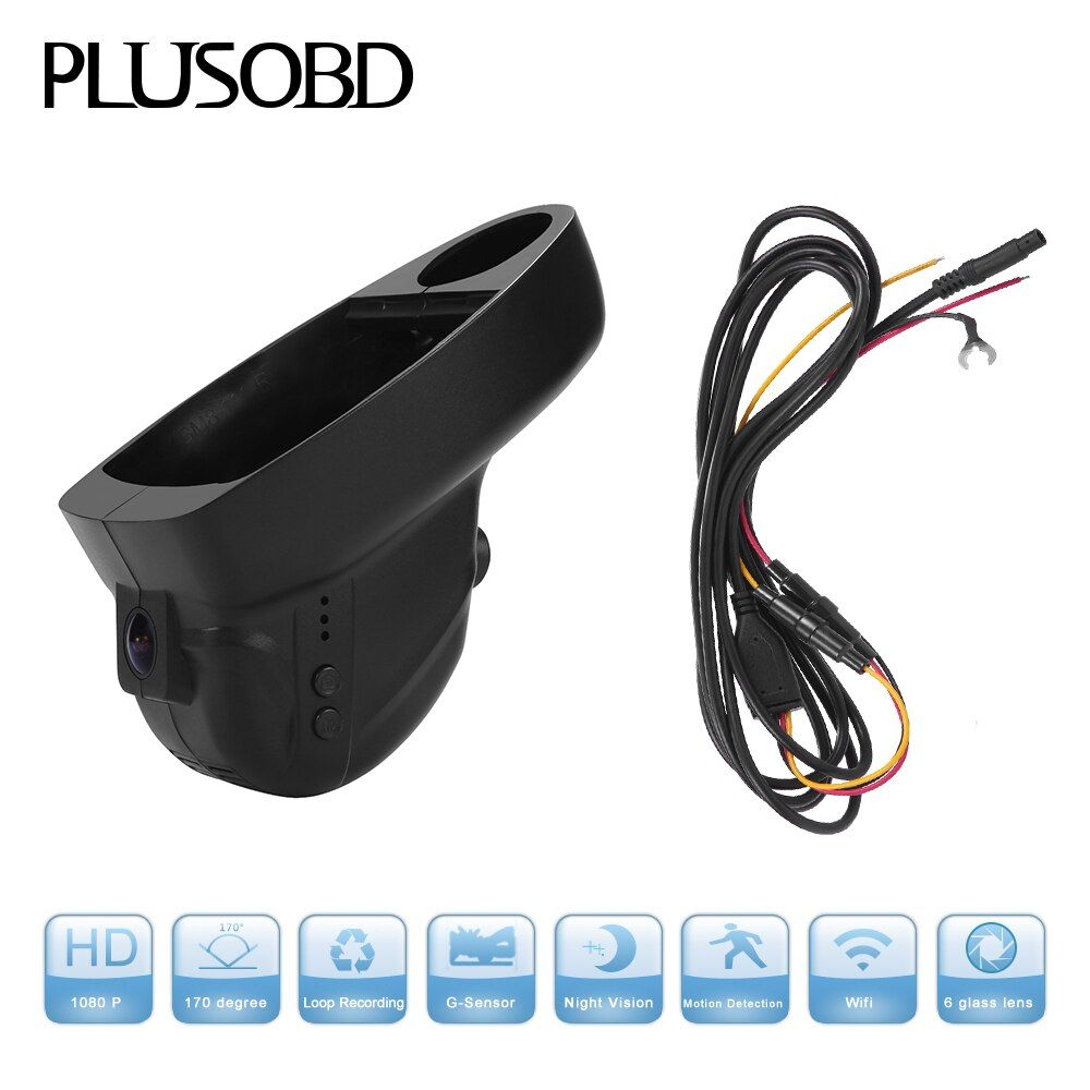 Dash Cam Car DVR Camera For BMW E65 E46 E38 E39 E53 E83 MINI Full HD 1080p Video Recorder Night Vision Motion Detection Carcam