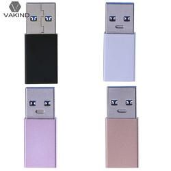 Aluminum Alloy Metal USB 3.0 Male to Type-C Female Adapter USB-A to USB-C Cable Converter Connector