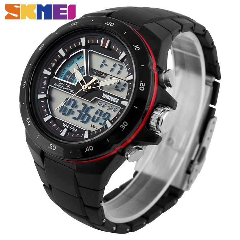 SKMEI Sports Watches Men Fashion Casual Digital Quartz Wristwatches Alarm 30M Waterproof Military Chrono <font><b>Relogio</b></font> Masculino 1016