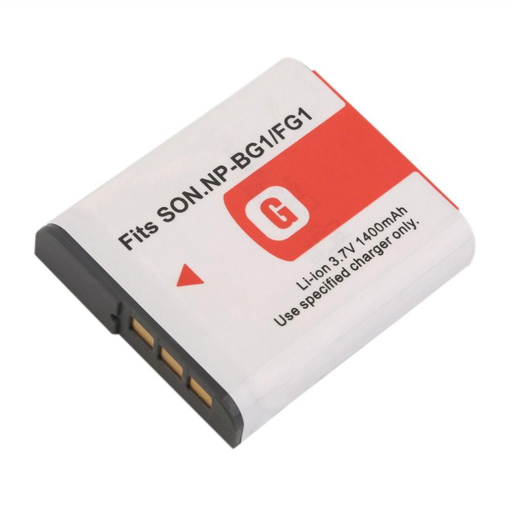Nueva 3.7 V 1400 MAH Reemplazo de La Batería Li-Ion con El Caso Para Sony NP-BG1/FG1 Cámara
