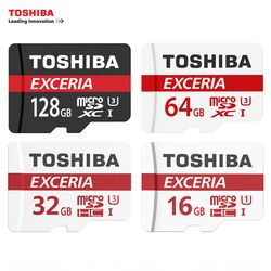 TOSHIBA Memory Card 128GB 64GB 32GB UHS-3 Max Read Speed 90M/s 16GB Class10 UHS-1 Memory for Samsung Galaxy S8 S7 S6 S5 Note Tab