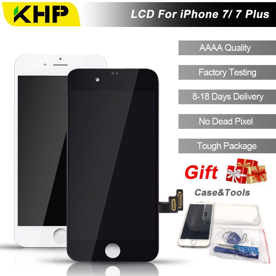2018 100% Original KHP AAAA Bildschirm LCD Für iPhone 7 Plus bildschirm LCD Ersatz-bildschirm IPS Display Touch Qualität 7 Plus LCDS