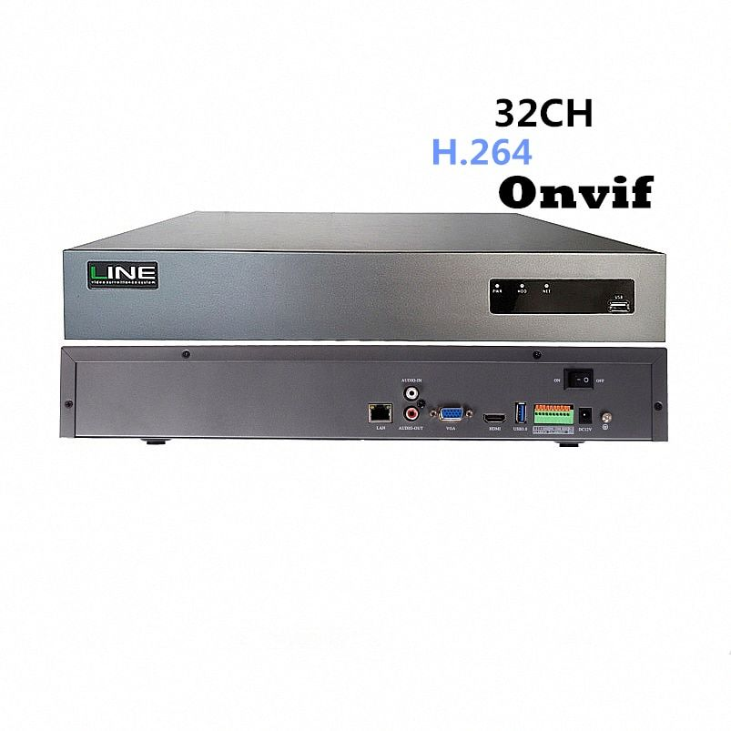 32ch Nvr 1080 P 4HDD Onvif Ahd Sicherheit IP Kamera Linux H264 Dvr Net Netzwerk Digital Video Recorder