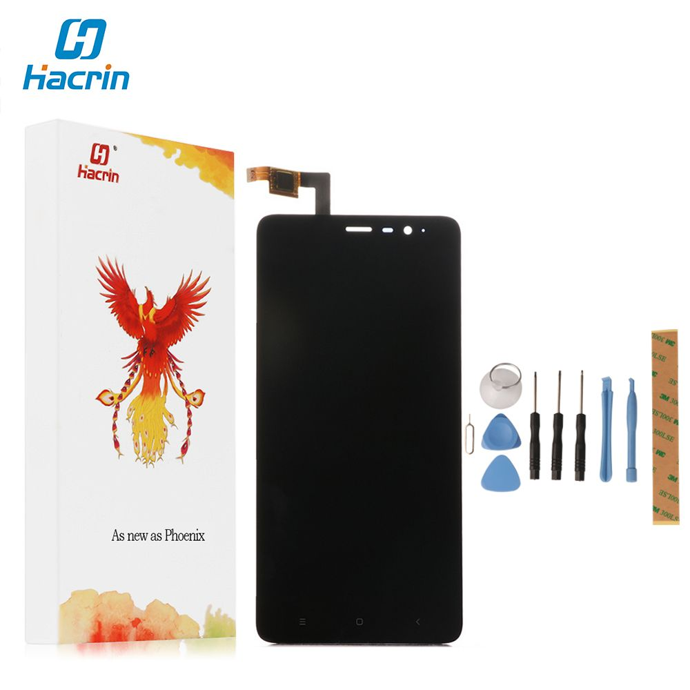Hacrin For Xiaomi Redmi Note 2 LCD Display+Touch Screen Digitizer Glass Panel For Xiaomi Redmi Note 2 Prime 1920X1080 5.5 inch