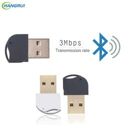 HANGRUI Bluetooth Adapter USB V4.0 Dual Mode Wireless Dongle Transmitter Receiver For Windows 10 8 Win 7 Vista XP 32 Android/IOS