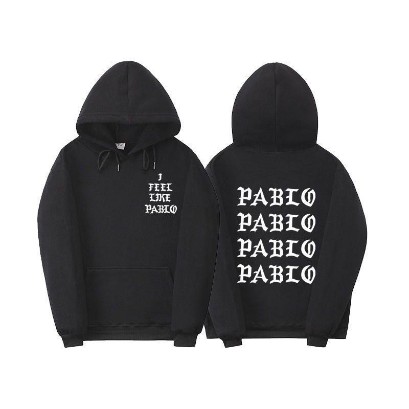 Fear Of God Paul'S Life Kanye West Pablo Hoodie Men Women Hip Hop Tracksuit Sweatshirts Pull Paris I Feel Like Paul Pablo Hoodie