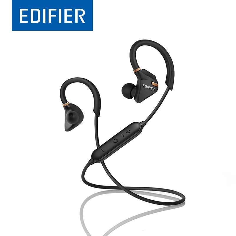EDIFIER W296BT Bluetooth Earphones Waterproof IPX5 Strong Bass Stereo Bluetooth 4.1 Earphone With Mic For Smartphone Tablet