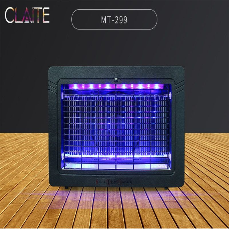 CLAITE 3W/7W 220V Outdoor Electric Shock Mosquito Killer Lamp Indoor Insect Bug Fly Zapper Repellent Energy Saving Mosquito Lamp
