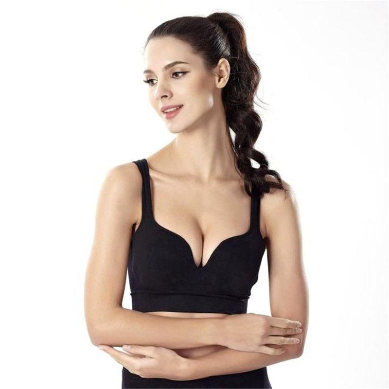 Snowshine3 #3001 Frauen Übung Sport Yoga Gepolsterte Bhs Nahtlose Push-Up Unterwäsche Bh