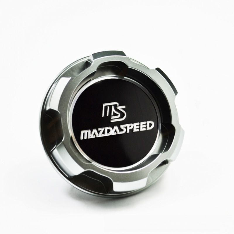 New Silver Aluminum ENGINE Oil Cap FIT MAZDA MAZDASPEED RX7 RX8 323 FAMILIA BP 1.8L PROTEGE FSDET  MIATA MX5 MX-5 car styling