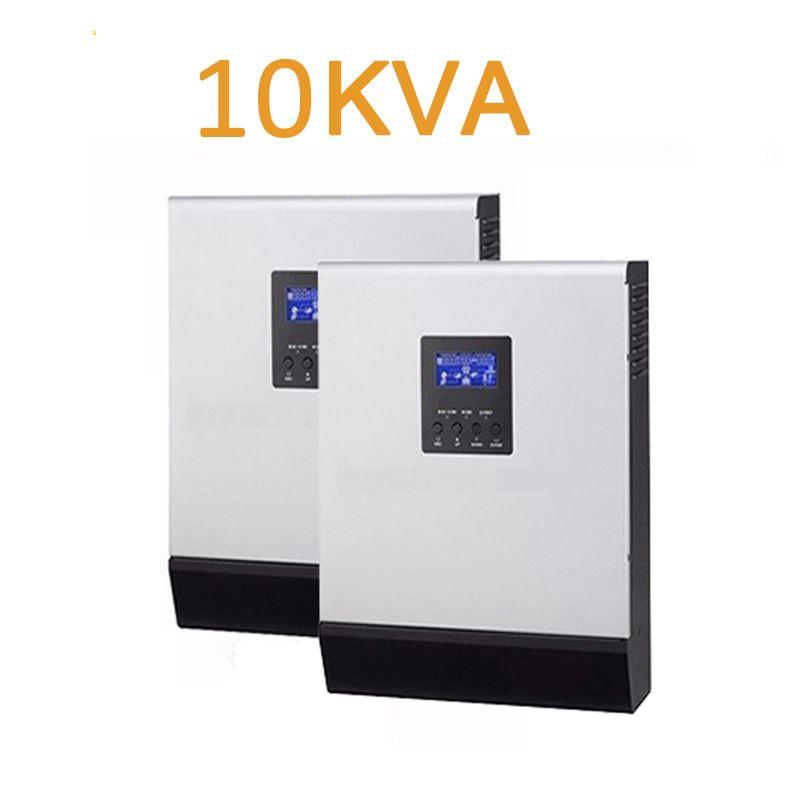 Bei einem verkauf!!!! hybrid solar inverter 10kva 10000VA 48 v ZU 220 V/parallel betrieb/reine sinus welle/LADE 120A /MPPT LADEGERÄT