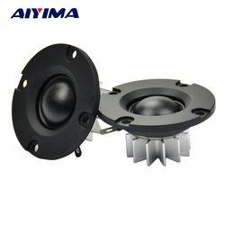 Aiyima 2pcs 2 inch 6ohm 30w Neodymium Aluminum Pot Small MK Speakers